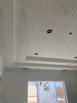 finished drywall photo showing ceiling and walls around window
